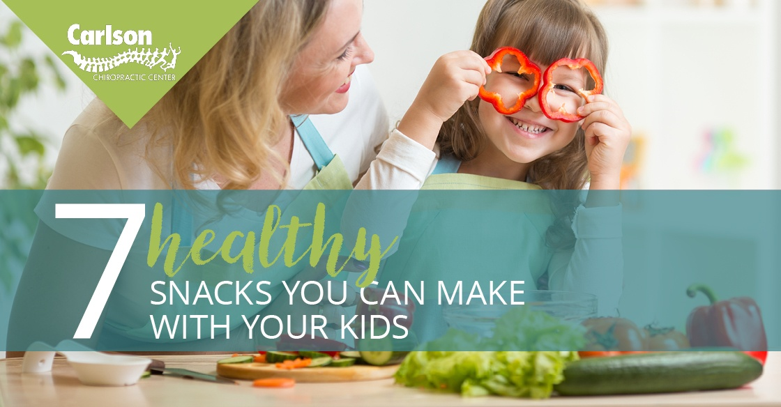 healthy snack you can make with your kids