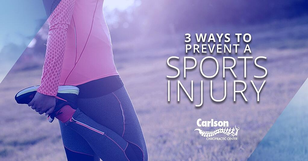 Follow these simple steps to avoid suffering sports injuries!