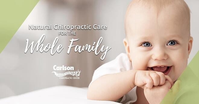 Chiropractic care can start for your child at a very young age!