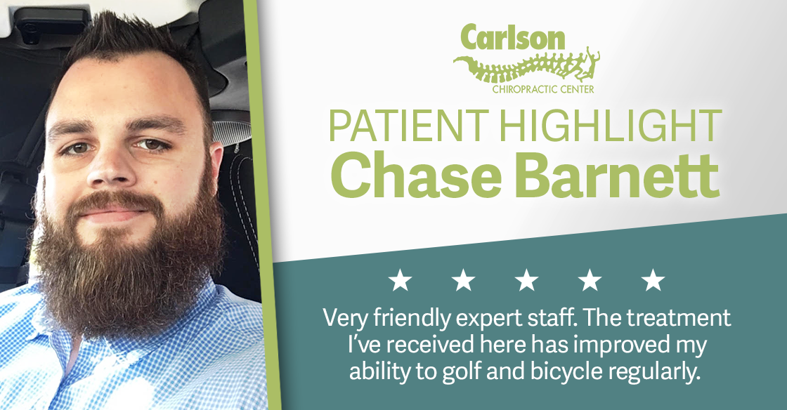 Carlson Patient Highlight Chase Barnett