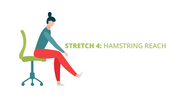 Stretch 4: Hamstring Reach