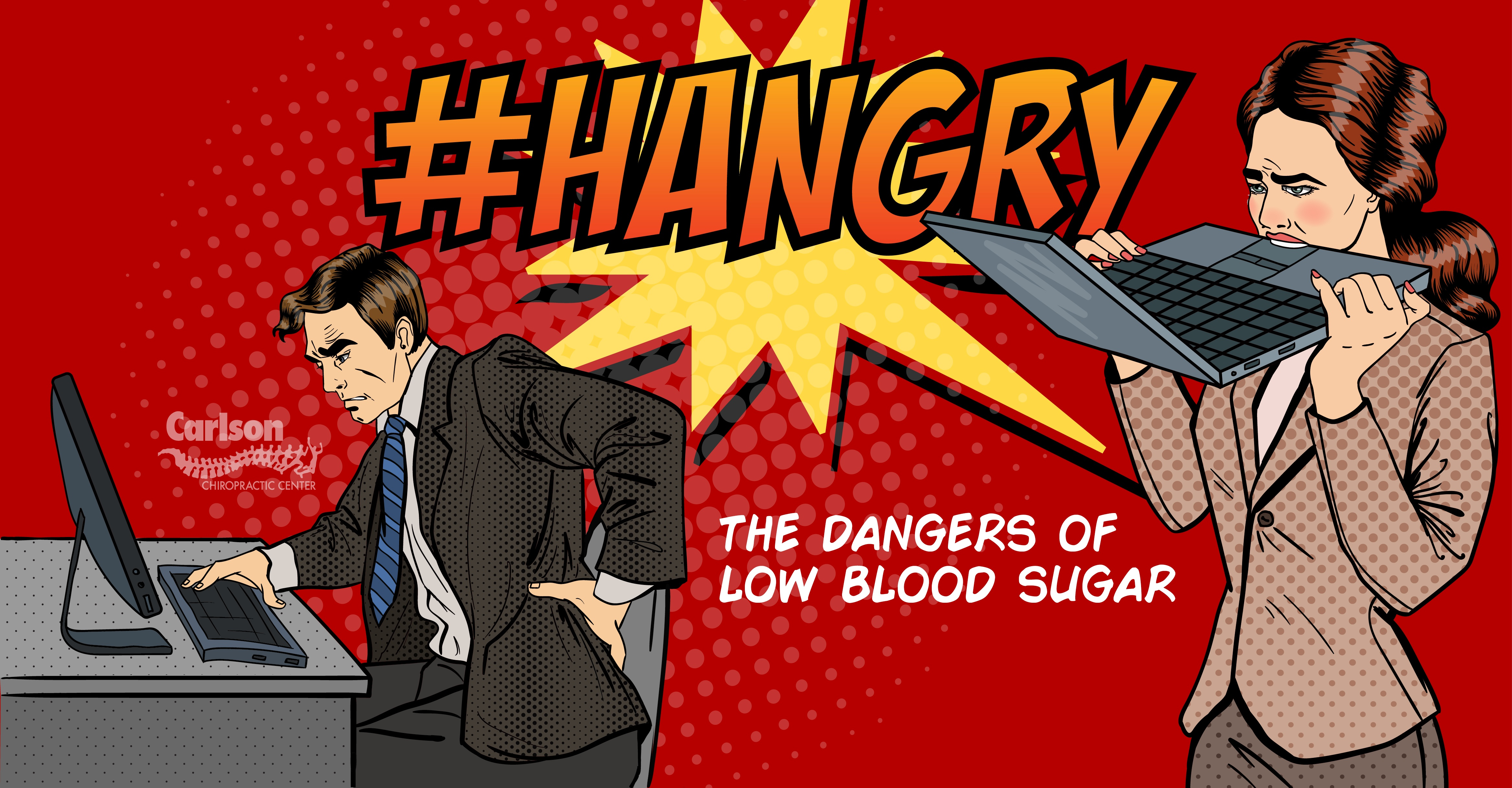"Is low blood sugar making you ""Hangry?"""